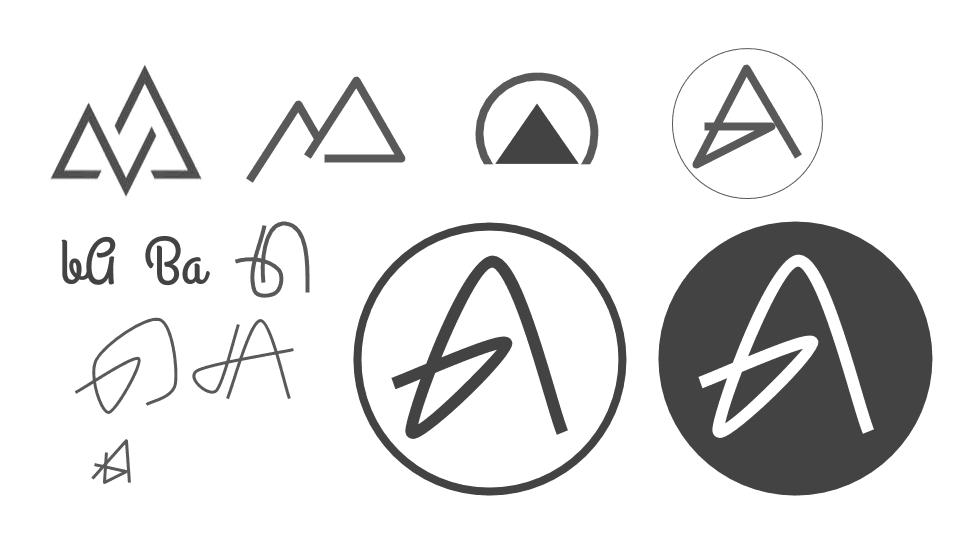 b-ahead-Logo-dot-skizzen